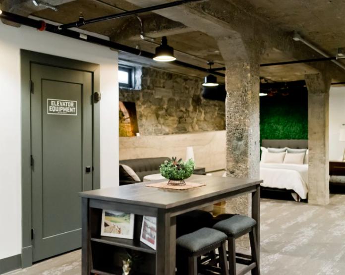 styl industrialny loft